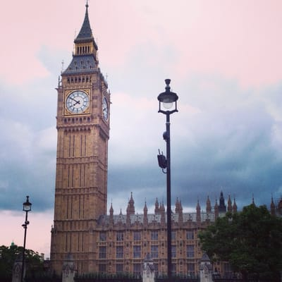 The Great Bell in the Elizabeth Tower was named Big Ben. Now, Big Ben Clock has become one of the landmarks Westminster
