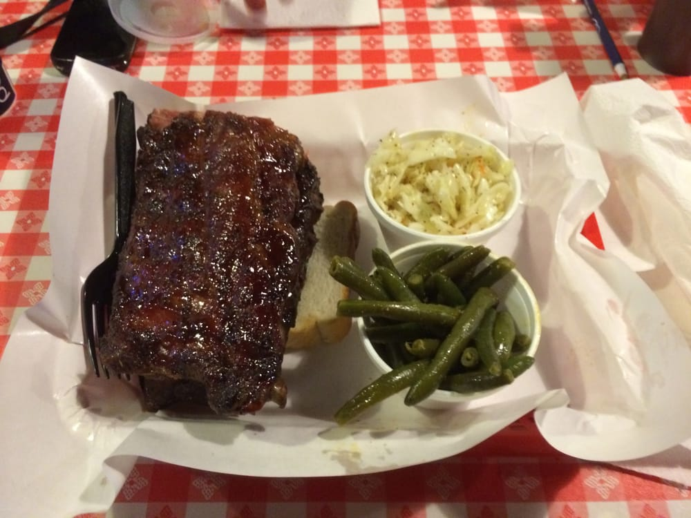 ... Louis, MO, United States. Full rack with cole slaw and green beans