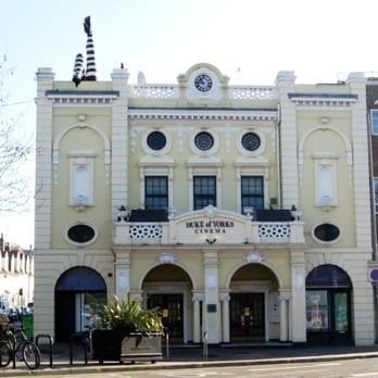 Duke of York's Picturehouse - Duke of York Cinema - complete with funky legs on the upper facade! - Brighton, United Kingdom