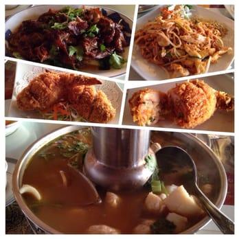 Krua thai restaurant thai monterey ca united states for Angel thai cuisine