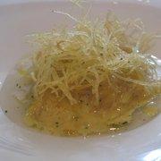 Inventive cuisine by Chef Nuno Mendes.