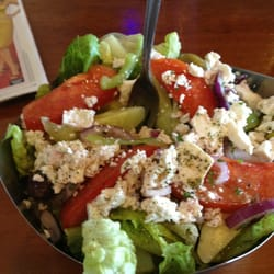 The Greek Authentic Cuisine - Greek salad .... Comes with your dinner meal! - Santa Cruz, CA, Vereinigte Staaten