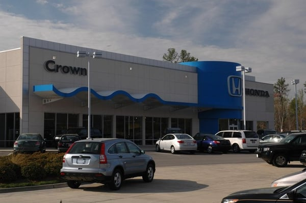 Crown honda of southpoint car dealers durham nc for Raleigh honda dealers