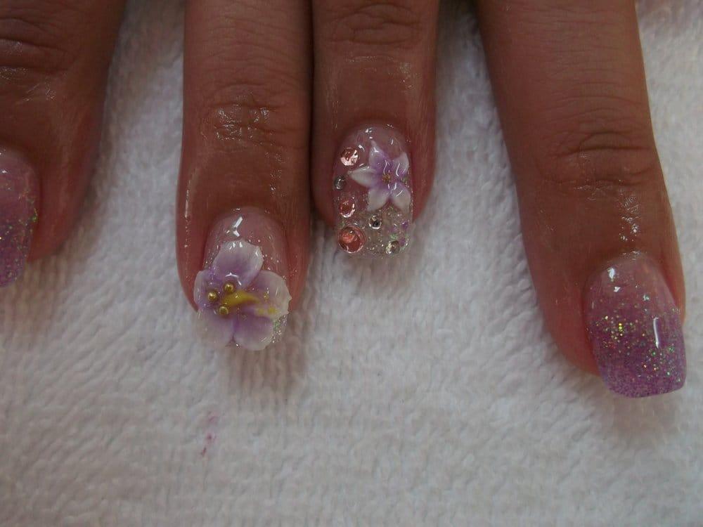 3d Nail Designs Flowers Flowers 3d Nail Art
