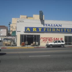 Italian Art Furniture CLOSED Furniture Stores Los Angeles CA Yelp