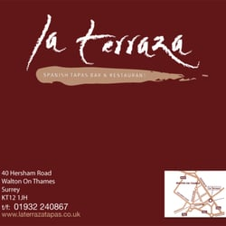 La Terraza Tapas Bar & Restaurant, Walton-on-Thames, Surrey