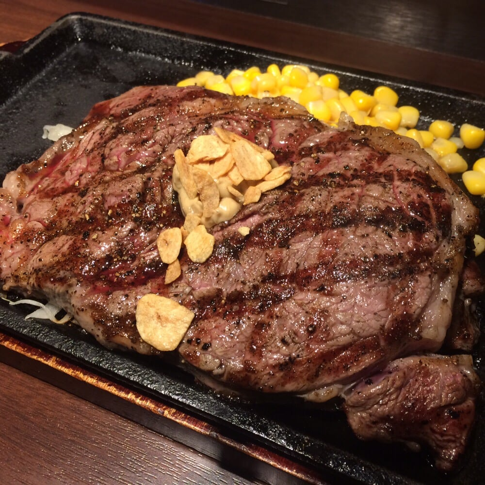 いきなりステーキ 市ヶ谷店>