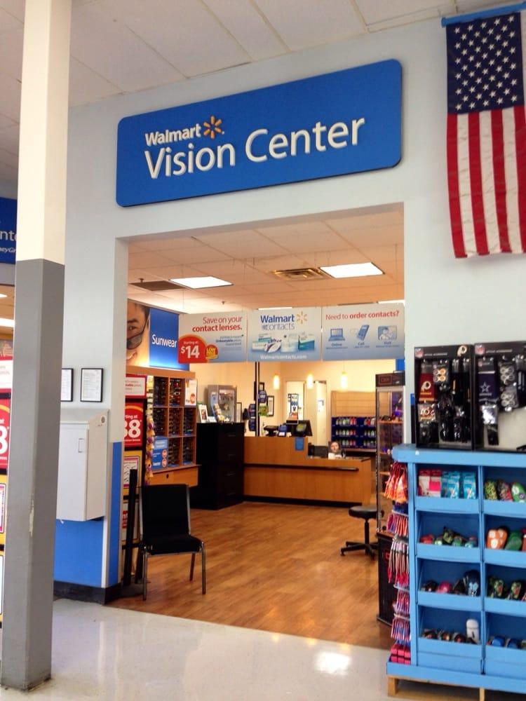phone number for walmart vision center