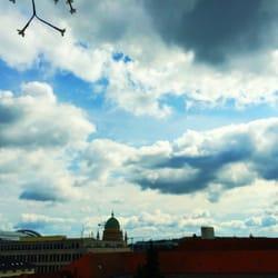 Blick von der Terrasse...