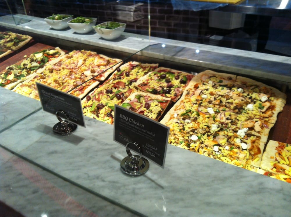 Crust gourmet pizza bar pizza perth city perth for 137 st georges terrace perth