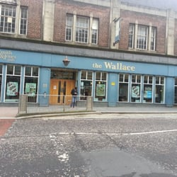 Entrance to the Wallace.