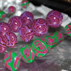 hand-made beads