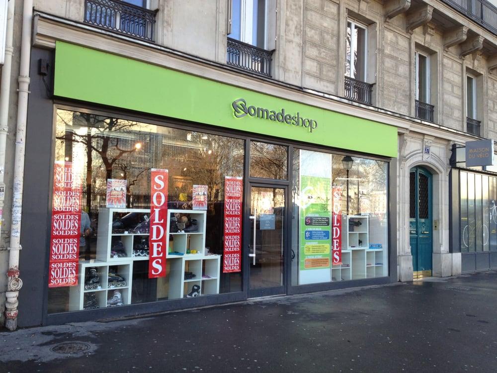 Nomade shop magasin de sport bastille paris avis photos yelp - Magasin luminaire bastille ...