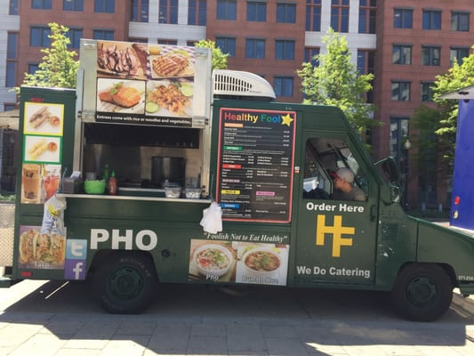 Healthy Fool Food Truck @ NSSC Pool