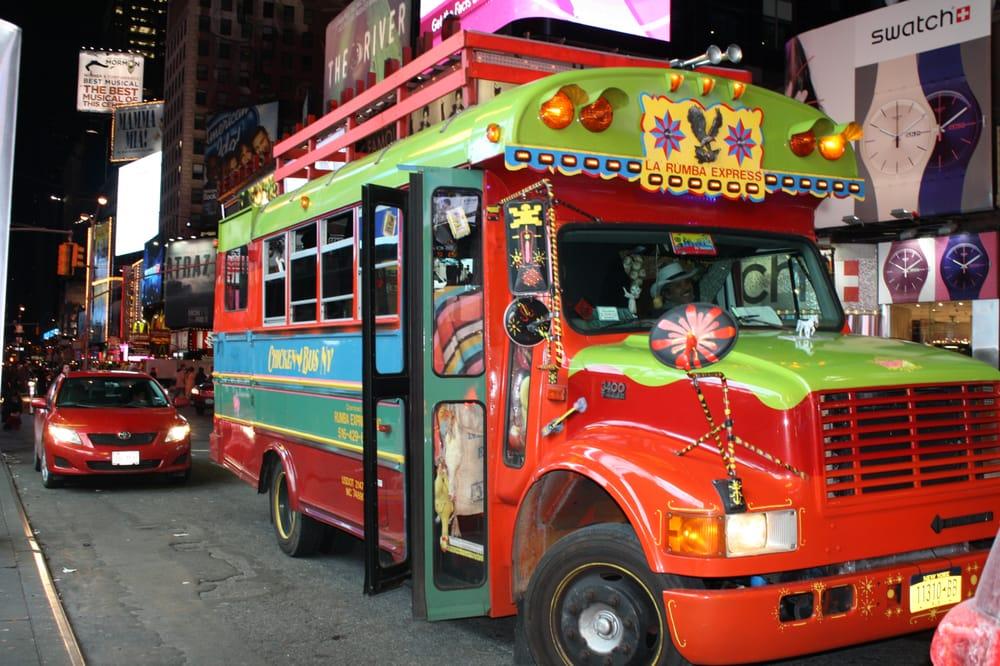Daniel's Chicken Party Bus NYC - Party Bus Rentals - SoHo ...