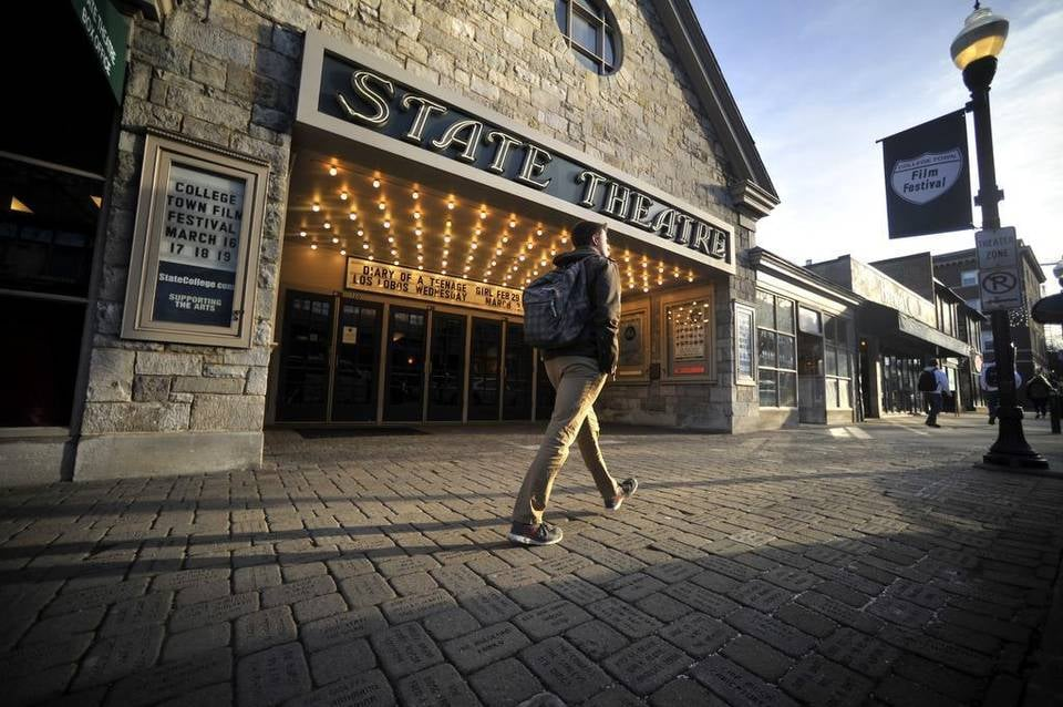 The State Theatre - State College, PA, United States. Courtesy of Centre Daily Times