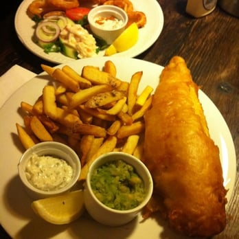 Squid and Fish & Chips