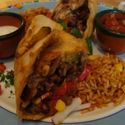 Chili con carne Chimichanga