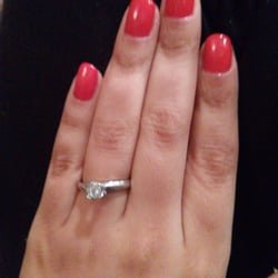 the woman who did my nails. She did a wonderful job. I love my nails