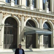 Ja przed Musikverein - 2012 rok