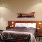 Harborside Inn - Atrium view with king bed - Boston, MA, Vereinigte Staaten