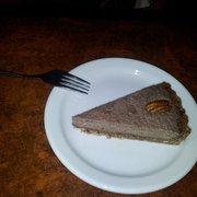 dessert of pecan tart, the bonnington…