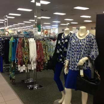 The ladies department at a typical Stein Mart store