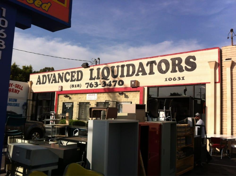 advanced liquidators office furniture office equipment north hollywood ca yelp. Black Bedroom Furniture Sets. Home Design Ideas