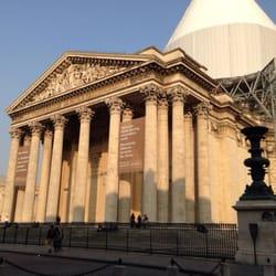 Le Panthéon - Paris, France. Auch hier wird mal gebaut