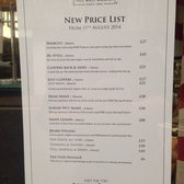 Pall Mall Barbers - New price list for info - London, United Kingdom