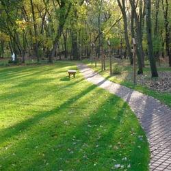 Franciscan Retreats - Stations of the Cross sidewalk - Prior Lake, MN, Vereinigte Staaten