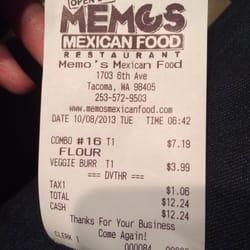 Memo S Mexican Restaurant Tacoma Wa