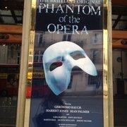 Phantom of the Opera matinee performance…