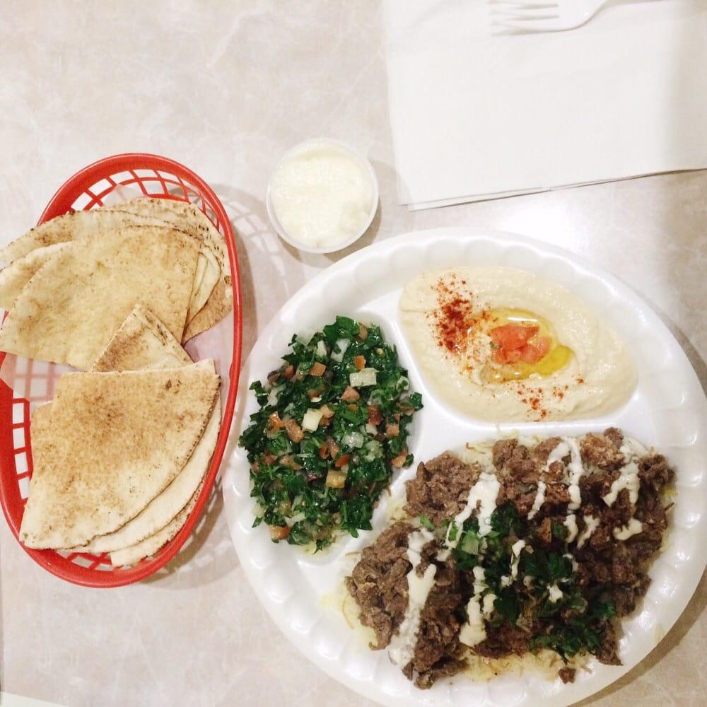 Beef Shawarma Pita Beef Shawarma Plate With