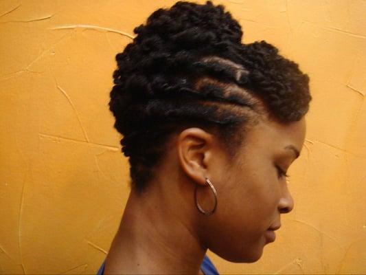 Trim Natural Hair At Home