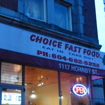 Choice fast food closed indian restaurants downtown for Fast food restaurants open on easter