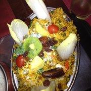 vegetarisches Reisgericht mit…