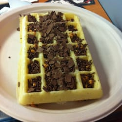 "BYR of Belgium - The Works: chocolate shavings, chocolate sprinkles, and butterscotch chips. Can I get an ""OMG""? - Campbell, CA, Vereinigte Staaten"