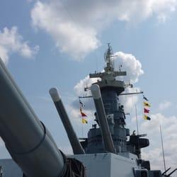 Uss North Carolina Battleship Memorial Wilmington Nc
