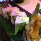 The soft shell crab maki was delicious, I just wish there was more of it!