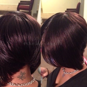 Bonded Quick Hair Weave 47
