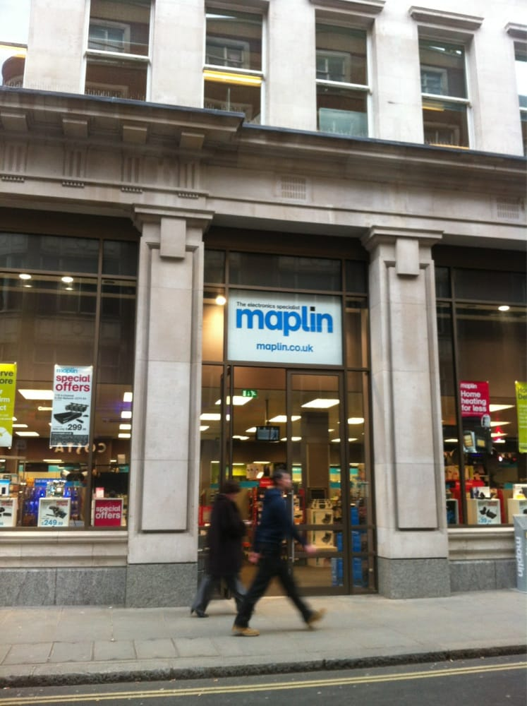 Maplin - Electronics - Liverpool Street / Broadgate - London ...