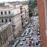 view of via Cavour, toward the forum