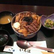 Leckeres Gyudon mit Miso Suppe und…