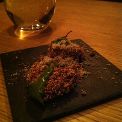 Amuse bouche 2 - Amaranth with sorrel