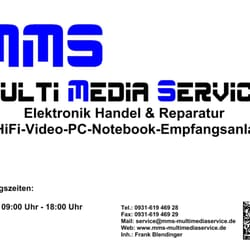 MMS - Multi Media Service, Würzburg, Bayern