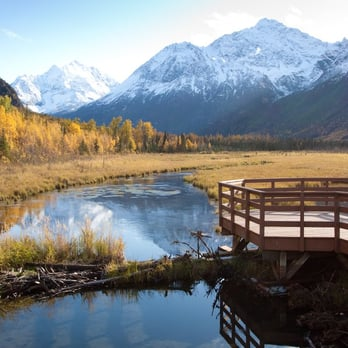 Eagle River Nature Center Yurts