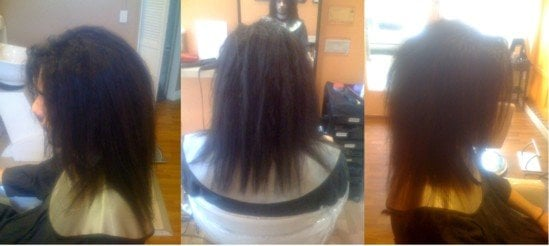 Japanese Straightening Before And After Before Japanese Ionic