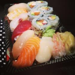 Take-away sushi happiness...