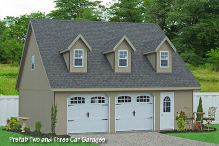 28x32 Prefab Two Car Garage In Smithville Pa Buy This